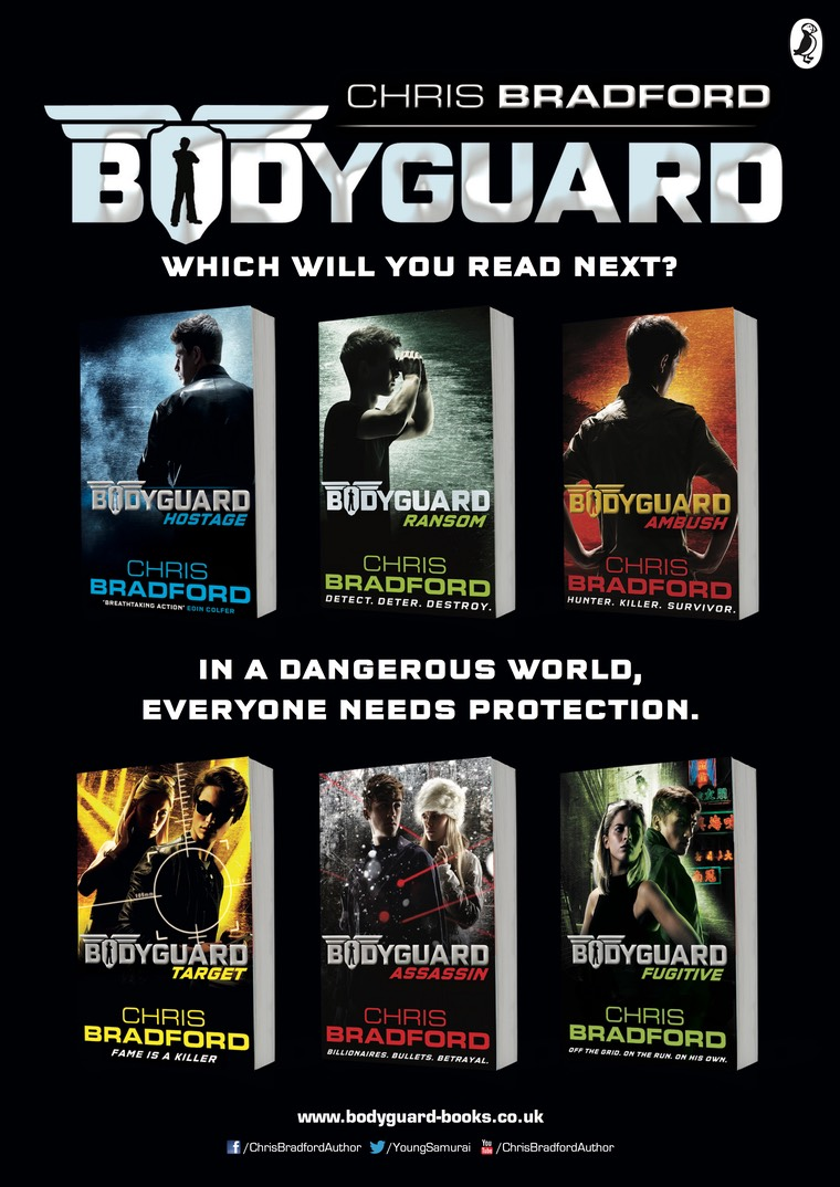 bodyguard Fugitive A2poster back
